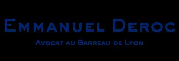Maître Emmanuel Deroc Logo